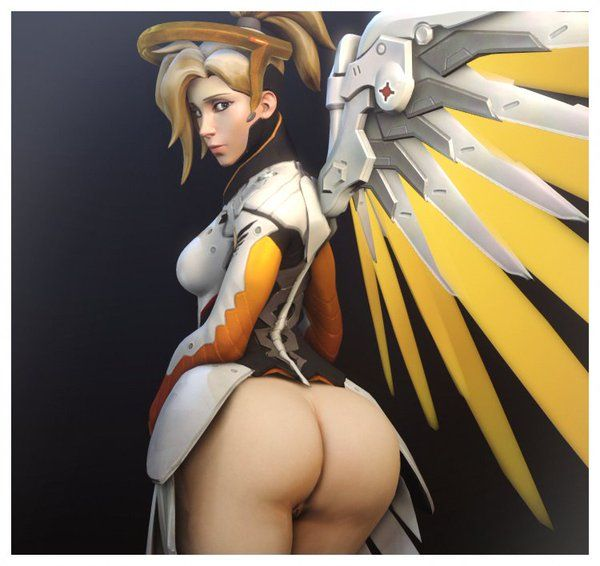 overwatch mercy naked