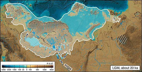 Last Glacial Maximum - The extent of the Last Glacial Maximum, Mangerud et al. 2004 (fig 4).