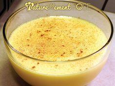 Recette n°2 de Crème Pâtissière Sans gluten & sans lactose - Naturellement Rose, recettes sans gluten sans lactose et sans oeufs