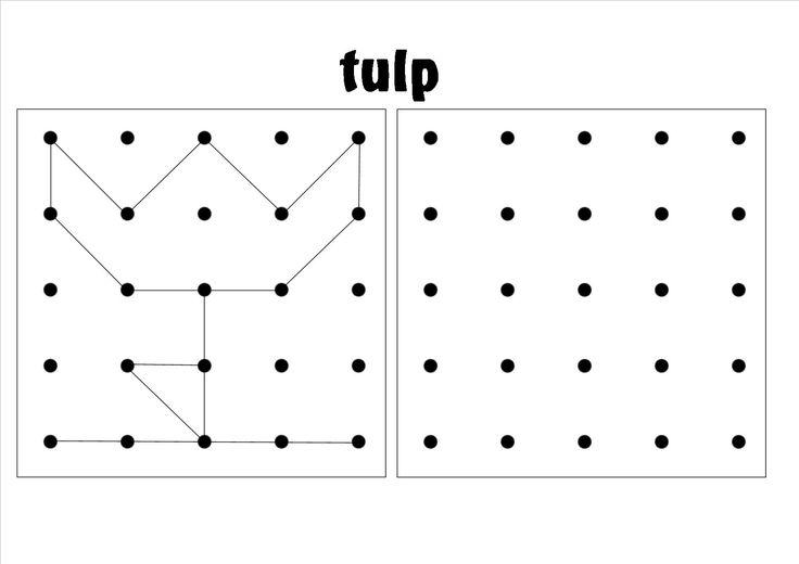ruimtelijke orientatie, werkblad 2 - 5