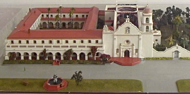 Quick Guide to Mission San Luis Rey de Francia: for Visitors and Students: Mission San Luis Rey Model Picture