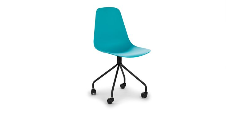 Svelti Poolside Aqua Office Chair