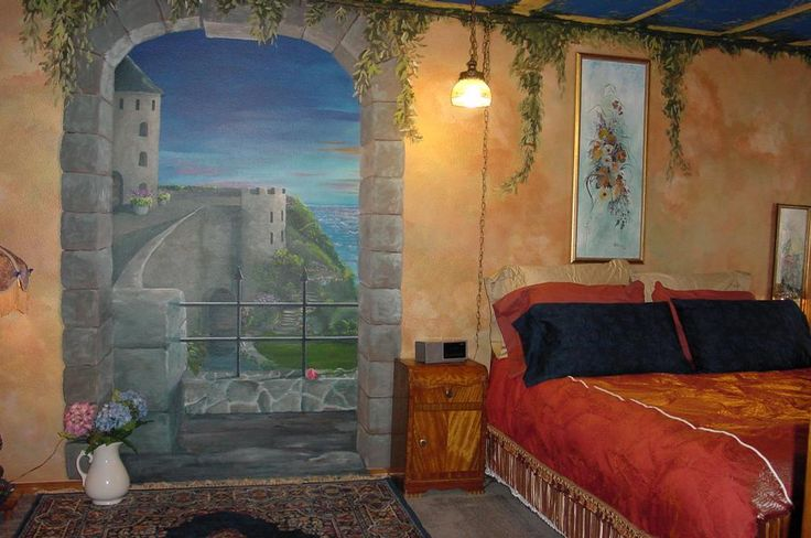 1000 images about fairytale bedrooms on pinterest girls for Castle bedroom ideas
