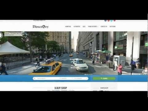 Presentation Video of Directory Portal WP Theme http://www.youtube.com/watch?v=is9DPO7Db6Y=1 #webdesign #google #wordpress #video #map
