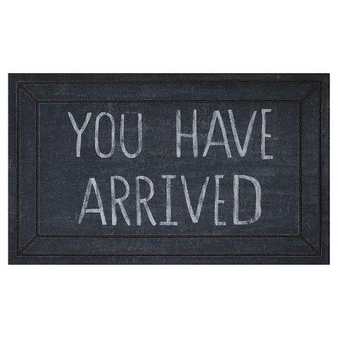 Re You Have Arrived Doormat Home Dec Ideas Pinterest