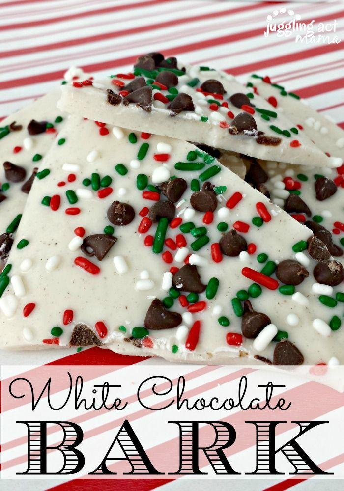 White Chocolate Bark - Juggling Act Mama