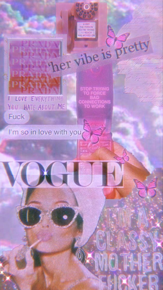 Dew Tiktok In 2020 Aesthetic Iphone Wallpaper Iphone Wallpaper Vintage Pastel Pink Aesthetic