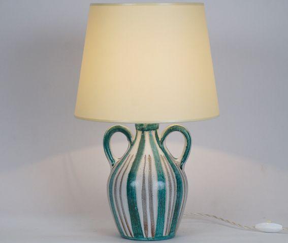 Lampe en céramique XXème siècle, Robert Picault www.jifcollin.com