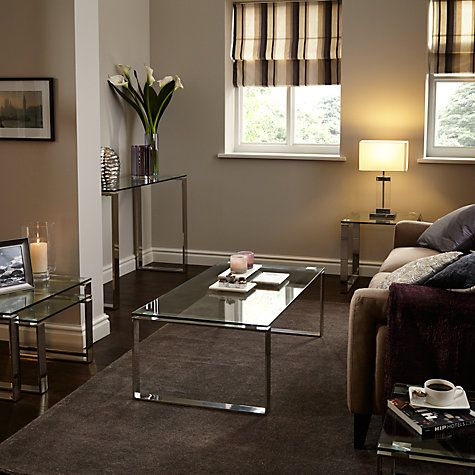 Buy John Lewis Frost Coffee Table Glass Online At Johnlewis