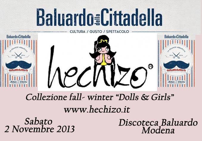 """Presentazione Collezione """"Dolls and Girls""""evento a modena al """"Baluardo""""..le foto!!"""