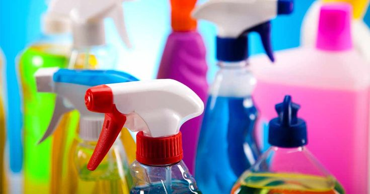 "Some ""non-toxic"" cleaning products, like Simple Green, actually contain 2-butoxyethanol and other harmful chemicals. http://articles.mercola.com/sites/articles/archive/2012/01/16/toxic-chemicals-in-green-cleaning-products.aspx"