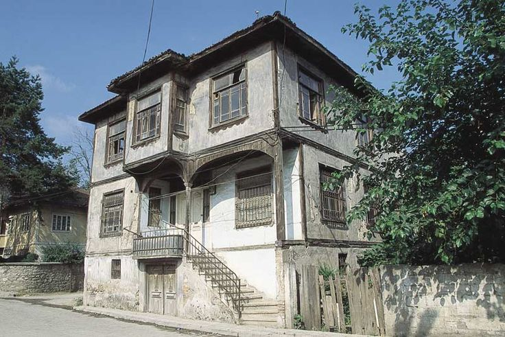 Eski İstanbul evleri.