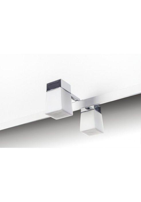 Aplique de ba o andantino para instalar en tablero espejo for Apliques para espejos de bano baratos