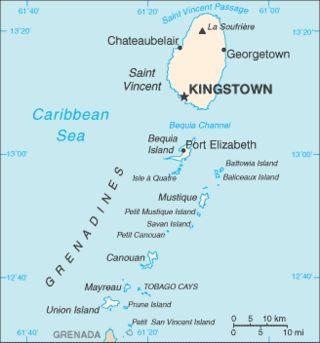 Sfântul Vicențiu și Grenadinele - Wikipedia