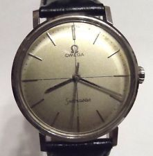 A Vintage OMEGA SEAMASTER Stainless Steel Gentleman's Wristwatch