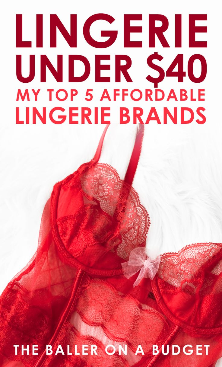 I stopped shopping at Victoria's Secret because I found better brands with the same quality for more affordable prices. Here are my top 5 brands under $40! - THE BALLER ON A BUDGET