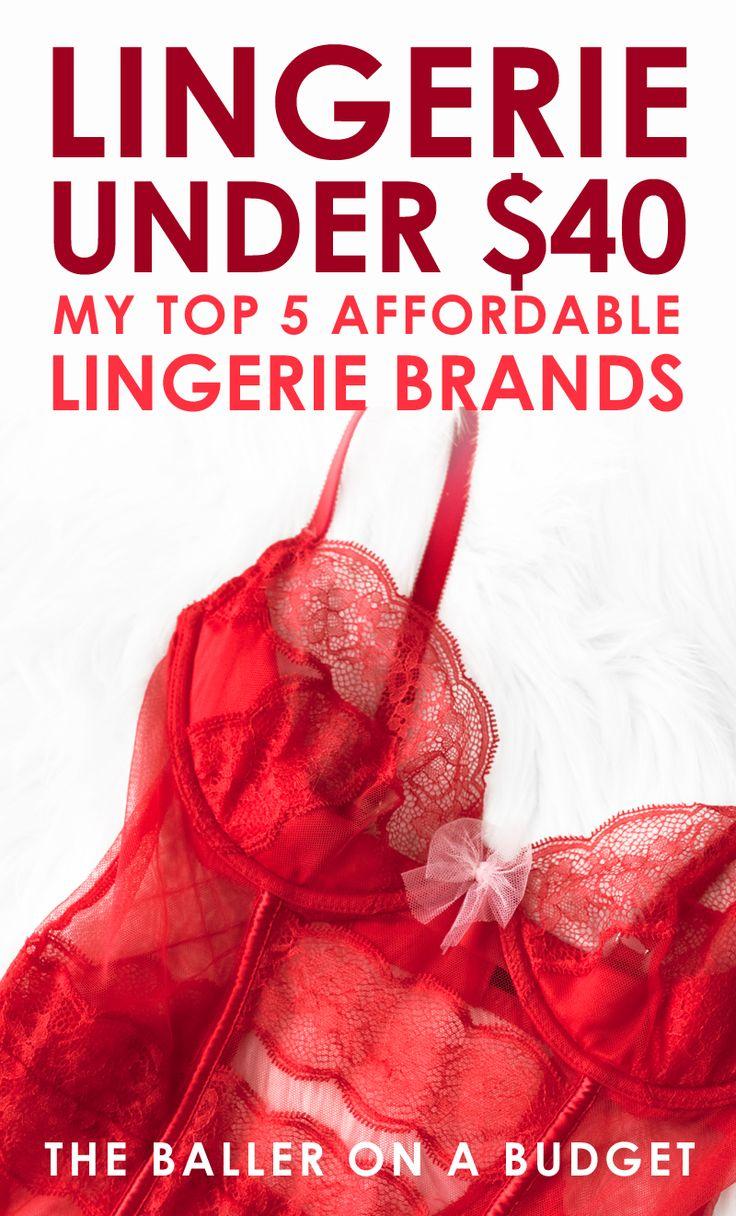 Satins, Silks & Lace: Lingerie Under $40 - THE BALLER ON A BUDGET