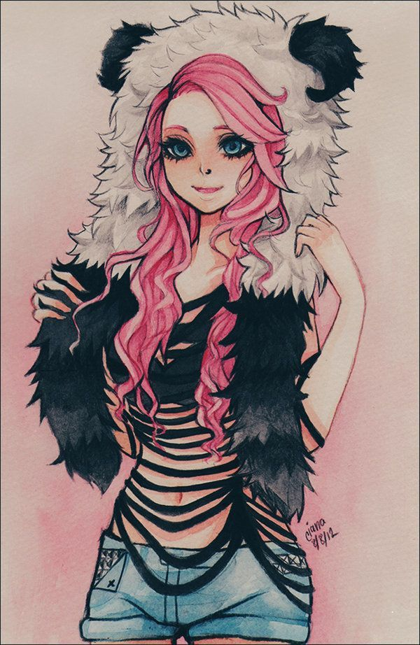 I Love This Drawing Hot Anime Pinterest Pink Hair