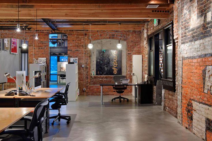 Офис компании Wintr в историческом здании в Сиэтле