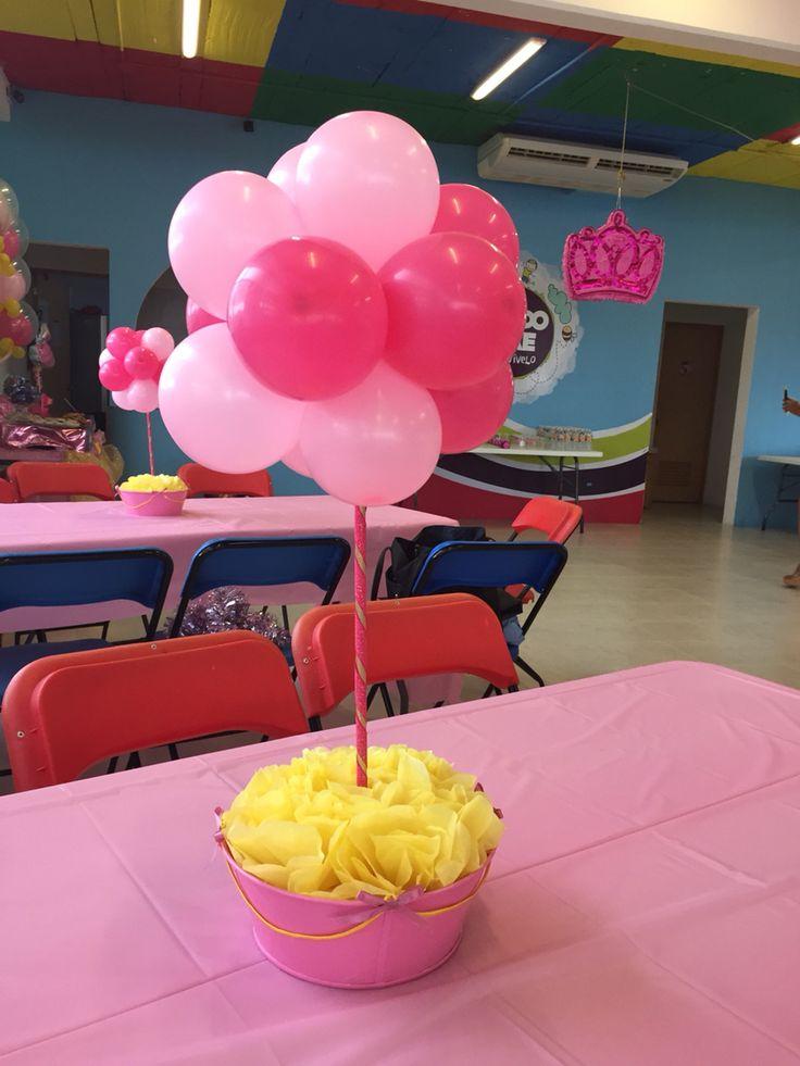 Aurora Party ideas centerpieces! La bella durmiente Party ideas