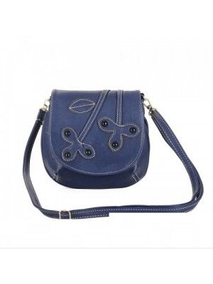 #LADIES LEATHER CLOVER SHOULDER #CROSSBODY #BAG