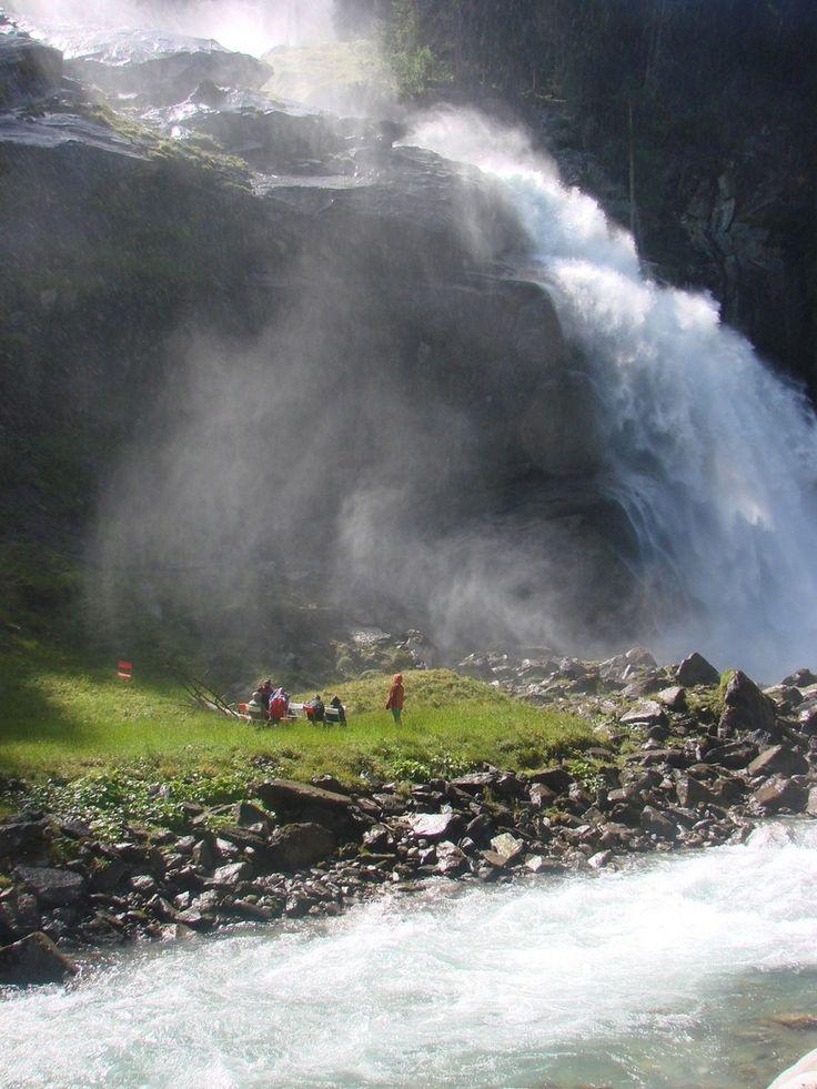 Krimmler Wasserfälle Krimml, Pinzgau Österreich