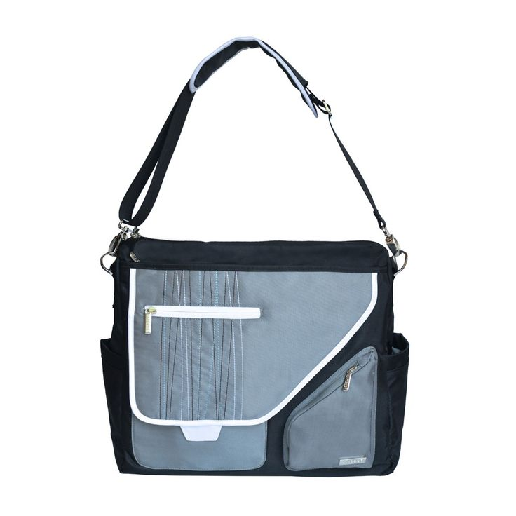 J J Cole Metra Bag Black Stitch