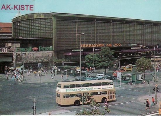 Bahnhof Zoo, 70er/80er  #Berlin #Westberlin