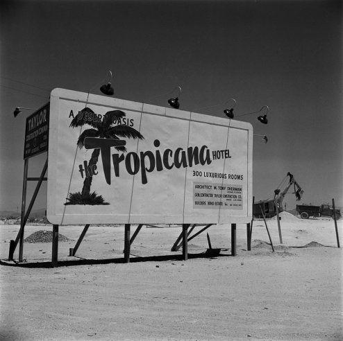 Las Vegas, Nevada 1955   Vintage Vegas: Rare Photos of a Desert Boomtown   LIFE.com