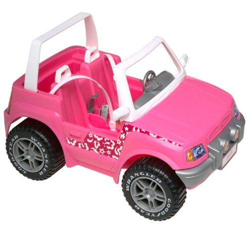 481 best dolls accessories images on pinterest barbie for Motorized barbie convertible car