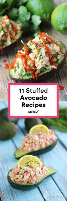 Forget toast—it's time to stuff your favorite food. /explore/healthy/ /search/?q=%23recipe&rs=hashtag /search/?q=%23stuffedavocado&rs=hashtag /search/?q=%23avocado&rs=hashtag http://greatist.com/eat/stuffed-avocado-recipes