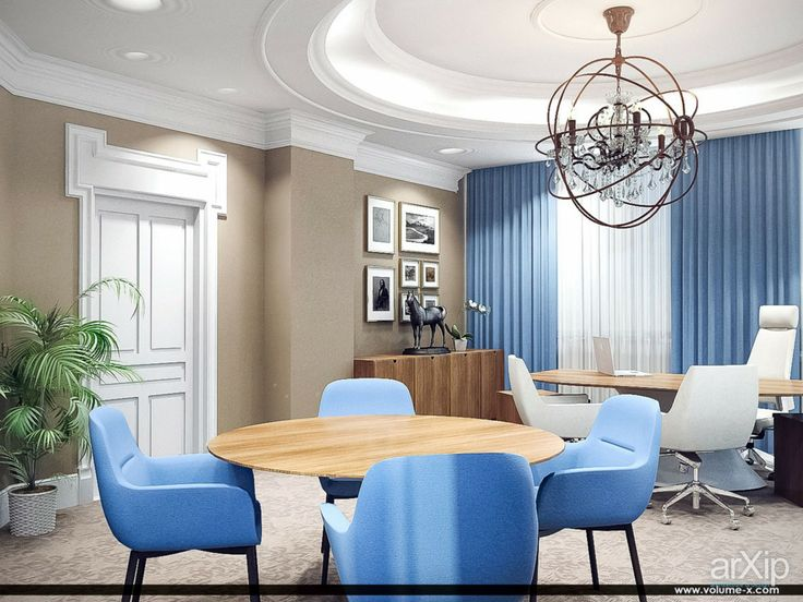 Офис. Кабинет директора.: интерьер, офис, администрация, кабинет личный, кабинет руководителя, неоклассика, 30 - 50 м2 #interiordesign #office #administration #personalcabinet #officeofceo #neoclassicism #30_50m2 arXip.com