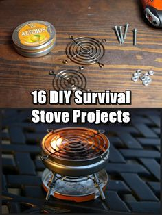 16 DIY Survival Stove Projects Whether you want a clever hand crafted camp stove to impress your friends or you need to know how to make one in a pinch for that random power outage or night spent in a broken down car.