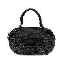 LIEBESKIND Berlin Damba Studs Handtasche mit Riemen Nairobi Black