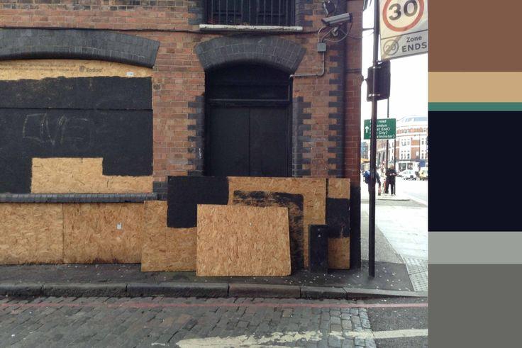 Urban palette in Hoxton