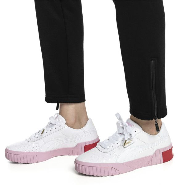Image 3 of Cali Women's Sneakers, Puma White Pale Pink