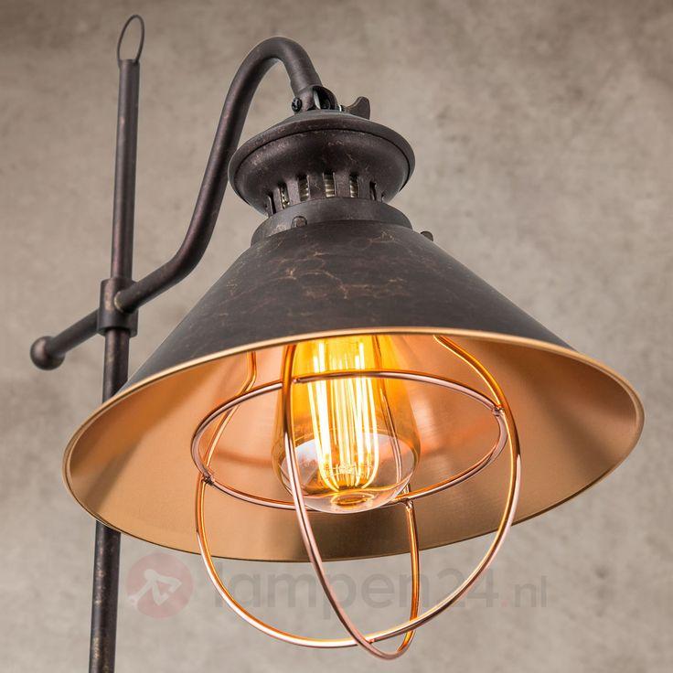 Staande lamp Shanta in antieke stijl veilig & makkelijk online bestellen op lampen24.nl