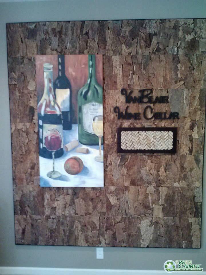 cork wall tiles unique wall art