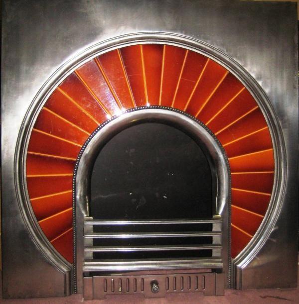Antique Art Deco Unique Tiled Insert