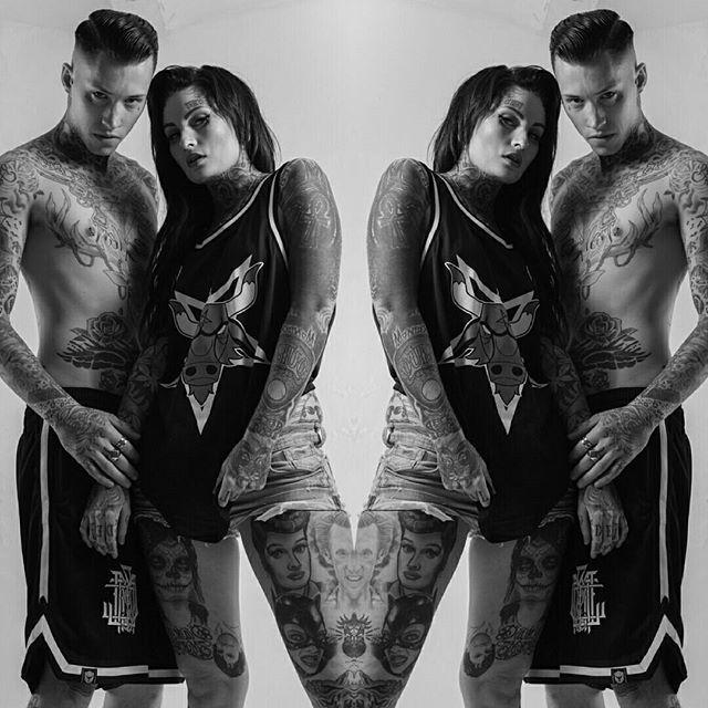 """Satanic Bulls"" Basketball Tank Top & ""Monogram"" Basketball Shorts available at www.crmc-clothing.co.uk   WE SHIP WORLDWIDE  Models - @lusylogan & @ryan_davieshall  Photography - @jt14photography  #Basketball #blackmetal #basketballjersey #basketballshorts #nba #altfashion #alternative #instafashion #fashionstatement #fashiongram #fashionista #instastyle #stylegram #fashionoftheday #dailyfashion #grungefashion #grunge #styles #style #alternativeguy #alternativeboy #alternativegirl…"