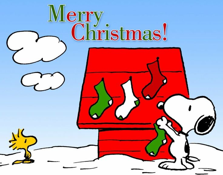 FREE Cartoon Graphics / Pics / Gifs / Photographs: Snoopy & Woodstock Christmas pictures