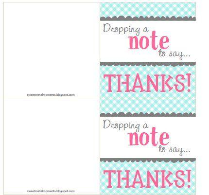 appreciation note