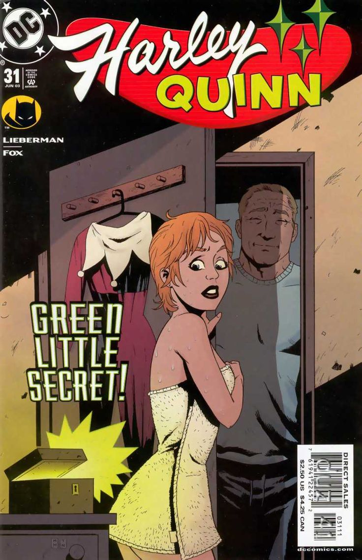 2003-06 - Harley Quinn Volume 1 - #31 - Who Steals from a Thief? #HarleyQuinnComics #DCComics #HarleyQuinnFan #HarleyQuinn #ComicBooks