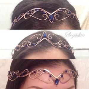 Elvish tiara Elven crown by deirdre