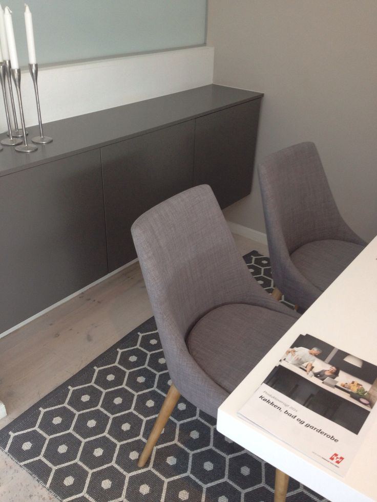HTH cabinets, Pappelina wids rugs, chair Danform..