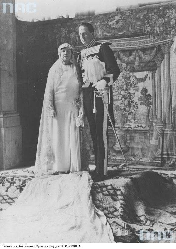 Isabel Alfonsa of Spain and count Jan Zamoyski