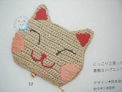 sandalias a crochet | Cara de kitty a crochet con patrón :lodijoella