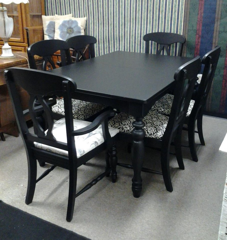 24 best Black leg farm tables images on Pinterest  Farm tables Kitchens and Diner table