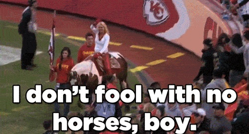 Eric Berry Is TERRIFIED Of Horses