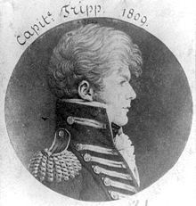 Lieutenant John Trippe, USN 1785-1810. Officer during the Quasi-War with France and the first Barbary War.